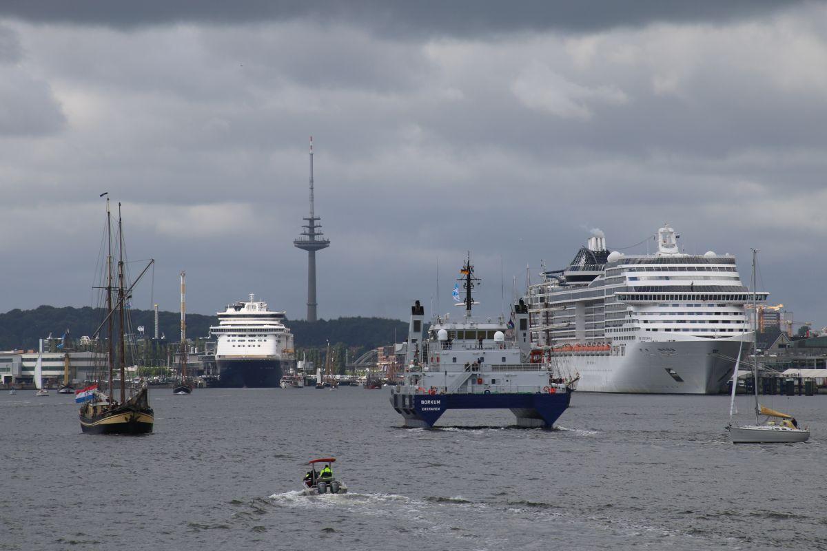 Schiffe Kieler Förde