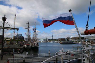 Sedov Segelschiff Kieler Hörn