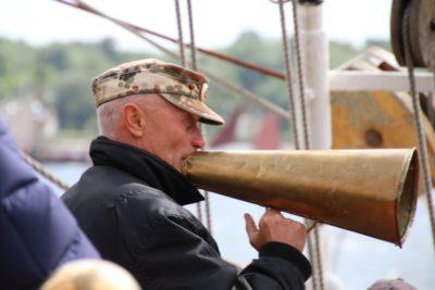 Besatzung Sedov Segelschiff