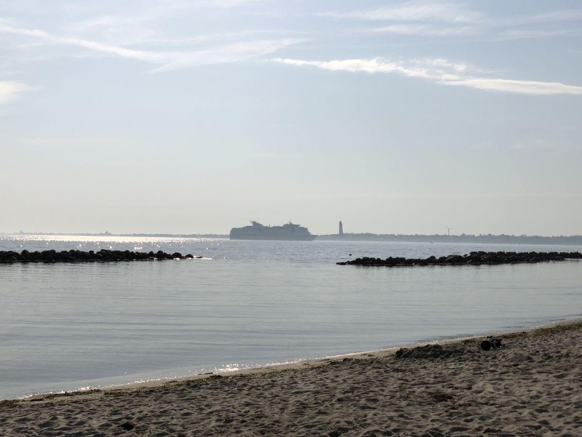Schilksee Strand an der Kieler Förde