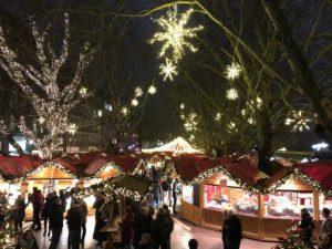 Weihnachtsmarkt Kiel Holstenplatz