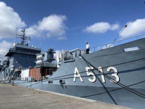 Open Ship Kiel A513 Tender Rhein