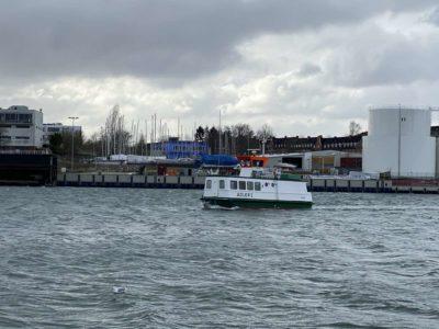 Adler I Fähre Nord-Ostsee-Kanal Kiel-Wik