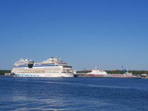 AIDAsol Kreuzfahrtschiff Kreuzfahrt ab Kiel