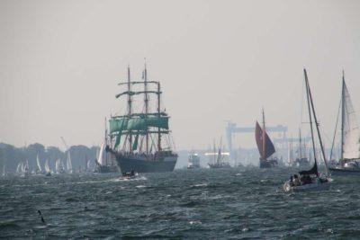 Alexander von Humboldt II Segelschiff Kieler Förde Windjammerparade 2020