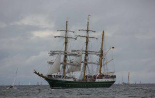 Alexander von Humboldt II Segelschiff Kiel Windjammerparade 2013