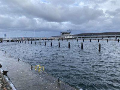Kiel Alter Olympiahafen von 1936 Kieler Förde
