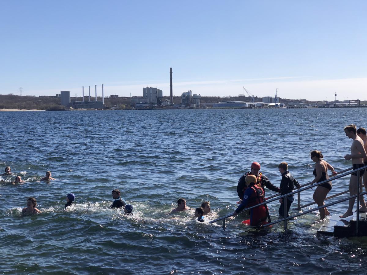 Anbaden Seebar Kiel 2019