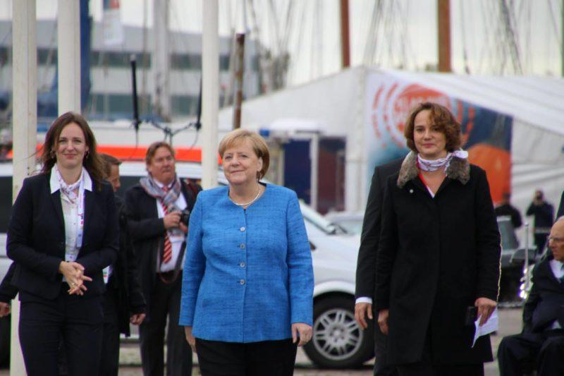 Bundeskanzlerin Angela Merkel in Kiel 03.10.2019 Tag der Einheit