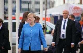Angela Merkel in Kiel 03.10.2019 Tag der Einheit
