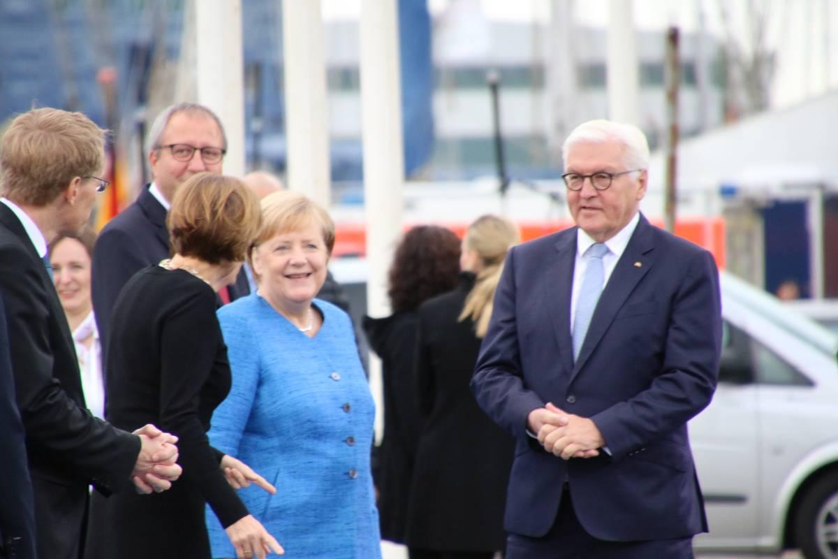 Merkel & Steinmeier in Kiel am 03.10.2019 Tag der Deutschen Einheit
