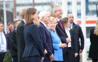 Angela Merkel & Frank-Walter Steinmeier Kiel 2019