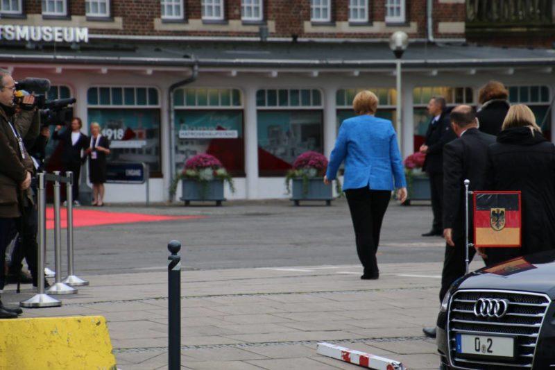 Angela Merkel Kiel Schifffahrtsmuseum 03.10.2019 Tag der Deutschen Einheit