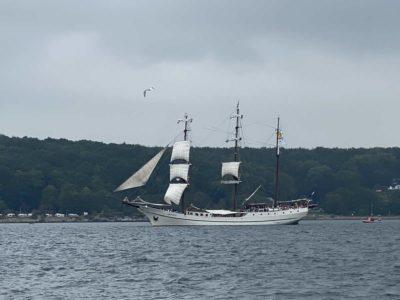 Artemis Segelschiff Windjammerparade 2021