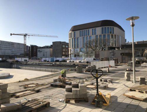 Baustelle Kleiner Kiel-Kanal Baufortschritt Ende Oktober 2019