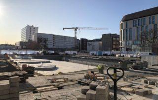Kleiner Kiel Kanal Baustelle Ende Oktober 2019