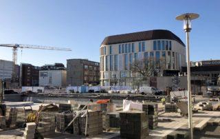 Baustelle Berliner Platz Kiel Primark Arbeiten Kleiner Kiel Kanal am 29.10.2019