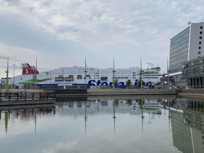 Stena Line Fähre & Bootshafen