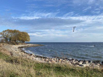 Kite Surfing in Bülk an der Ostsee