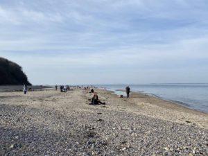 Dänisch-Nienhof Relaxen am Strand 21.02.2021