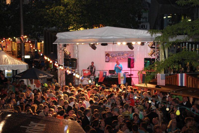 DJ Gary live am Alten Markt