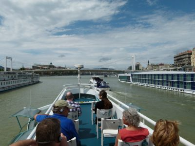 Donaufahrt Blick auf Nesselkutter Netzgetüdel