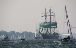 Dreimaster Alexander von Humboldt II Windjammerparade 2020
