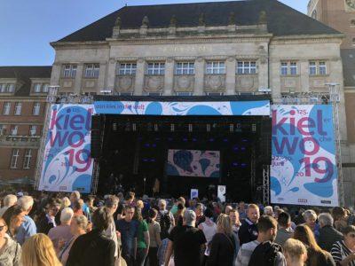 Eröffnung Kieler Woche 2019 Rathausplatz Kiel