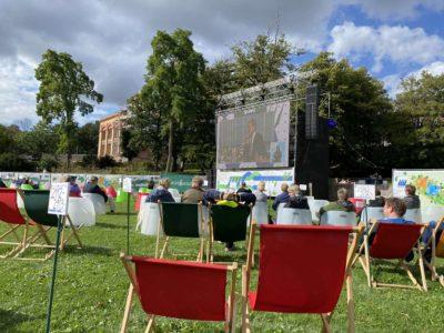 Eröffnung Kieler Woche 2020 Live-Übertragung im Schlossgarten