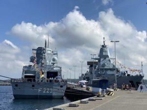 F223 Fregatte Nordrhein-Westfalen in Kiel
