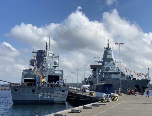 Kieler Woche Open Ship 2021 im Marinestützpunkt Kiel-Wik