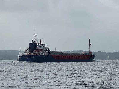 Ferromar Frachtschiff Kieler Förde