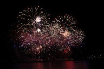 Feuerwerk Kieler Woche 2021 Kieler Förde