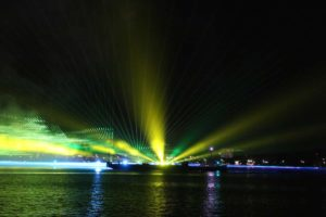 Licht Show Kieler Woche Feuerwerk 2021