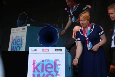 Franziska Giffey Kieler Woche Eröffnung 2019 Rathausbühne Kiel