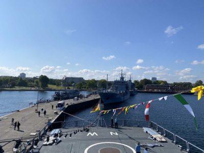 An Bord der Fregatte Nordrhein-Westfalen F 223