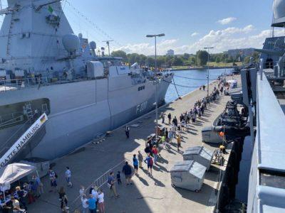 Open Ship Marinestützpunkt Kiel 2021 Fregatten