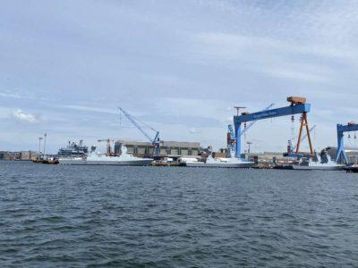 German Naval Yards Kiel Marineschiffe