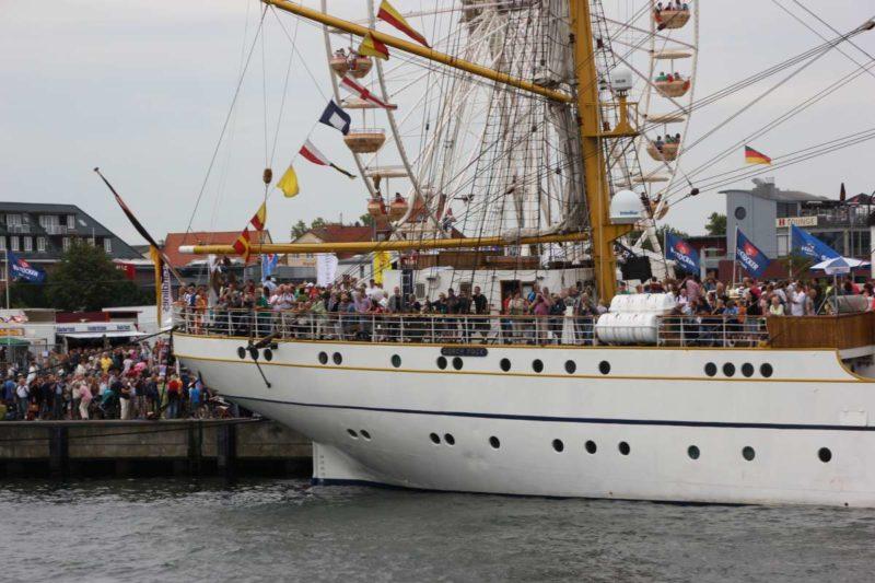 Gorch Fock Segelschulschiff Open Ship