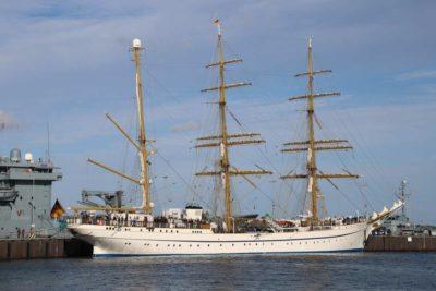Segelschulschiff Gorch Fock in Kiel