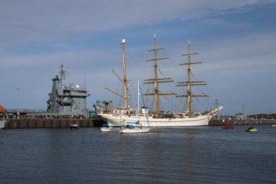 Gorch Fock 04.10.2021 zurück in Kiel