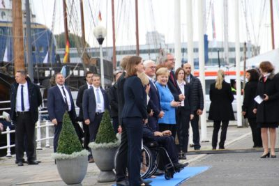 Angela Merkel Kiel Tag der Einheit 2019 Schifffahrtsmuseum