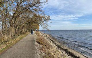 Herbstspaziergang an der Ostsee nahe Bülk