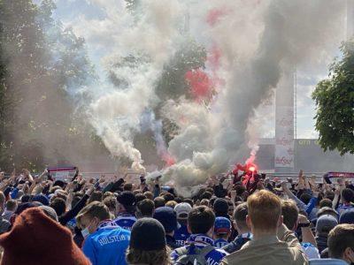 Holsteinstadion Kiel - Darmstadt 23.05.2021