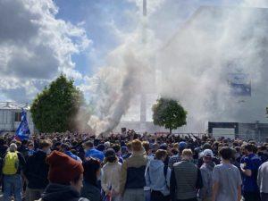 Am Holsteinstadion Kiel - Darmstadt 23.05.2021