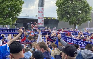 Kiel - Darmstadt am Holsteinstadion 23.05.2021