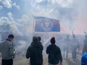 Holstein Kiel Fans 23.05.2021 Holsteinstadion