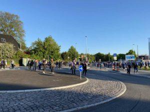 Relegation Kiel - Köln Holstein-Stadion Spielende
