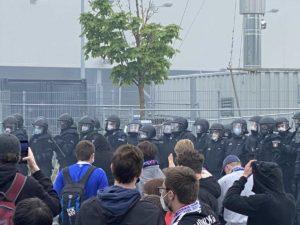 Holstein Kiel - Darmstadt 23.05.2021 Polizei