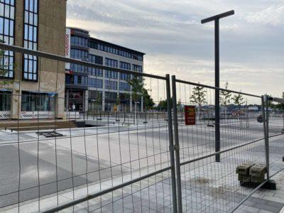 Kiel Holstenbrücke Baustelle